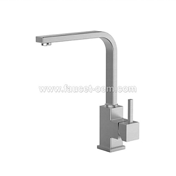 Single lever 1 handle kitchen faucet