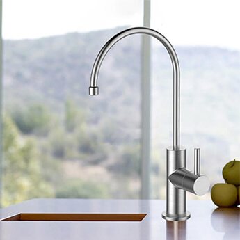 Stainless Steel Water Filtration System Faucets